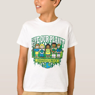 Earth Kids Pennsylvania T-Shirt