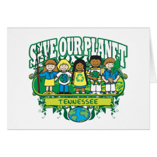Earth Kids Tennessee Card