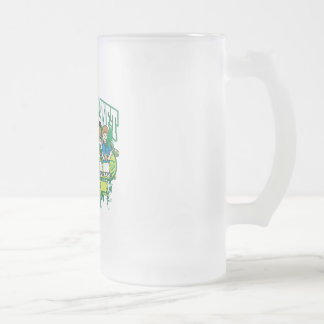 Earth Kids Tennessee Frosted Glass Beer Mug