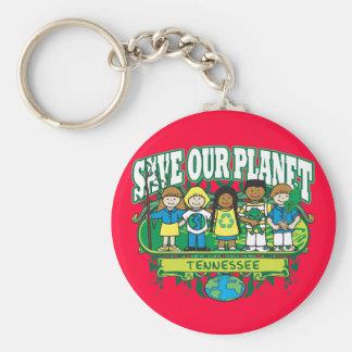 Earth Kids Tennessee Keychain