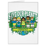 Earth Kids Vermont Greeting Card