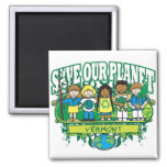 Earth Kids Vermont Magnet