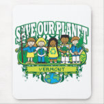 Earth Kids Vermont Mouse Pad