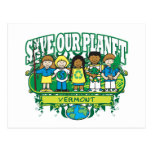 Earth Kids Vermont Postcard