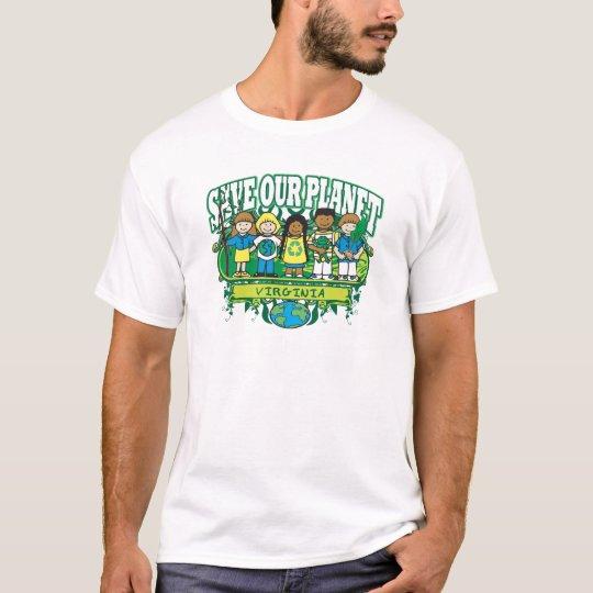 Earth Kids Virginia T-Shirt
