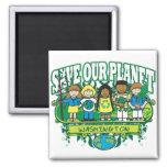Earth Kids Washington Magnet