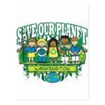 Earth Kids Washington Postcard