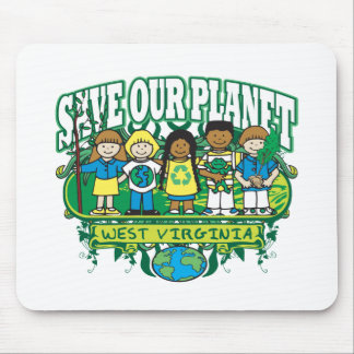 Earth Kids West Virginia Mouse Pad