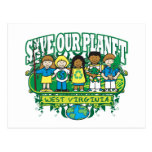 Earth Kids West Virginia Post Cards
