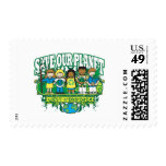 Earth Kids West Virginia Stamps