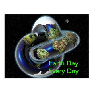 Earth knot postcard