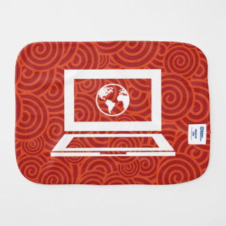 Earth Laptops Minimal Burp Cloths