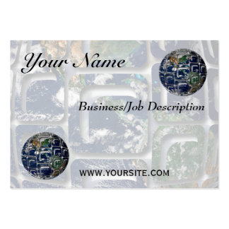 Earth Large Business Card