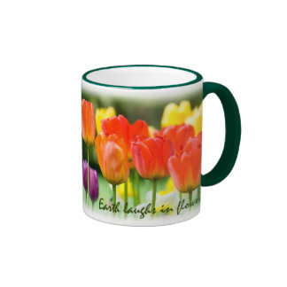 Earth Laughs in Flowers - Tulip Mug - Customized