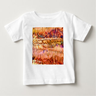 Earth Layers Abstract Baby T-Shirt