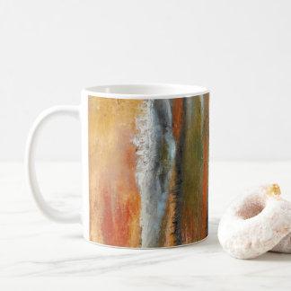 Earth Layers Abstract Mug