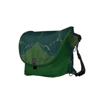 Earth Leaf Fractal rickshawmessengerbag