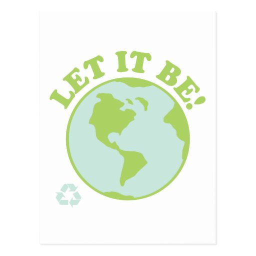 Earth Let It Be Post Cards