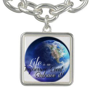 Earth - Liffe is an Impressive  Event Charm Bracelets