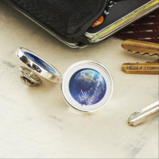 Earth - Liffe is an Impressive  Event Lapel Pin
