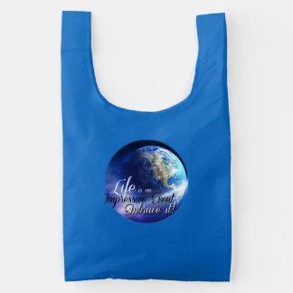 Earth - Liffe is an Impressive  Event Reusable Bag
