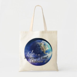 Earth - Liffe is an Impressive  Event Tote Bag