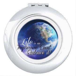Earth - Liffe is an Impressive  Event Vanity Mirror