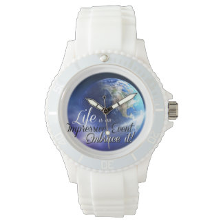 Earth - Liffe is an Impressive  Event Wristwatches
