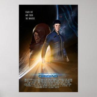 "Earth-Link Origins Poster #001 (24"" x 36"")"