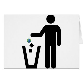Earth Litter Disposal Card