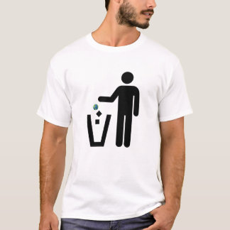 Earth Litter Disposal T-Shirt
