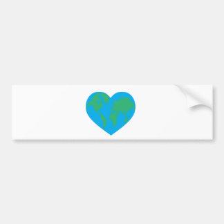 Earth Love Bumper Sticker