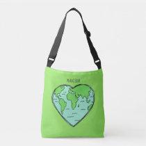 Earth Love custom name & color bags