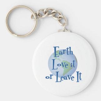 Earth Love Keychain