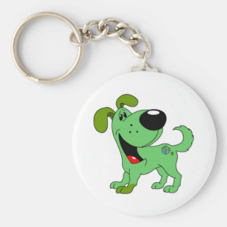 Earth Lover! Pup Keychain