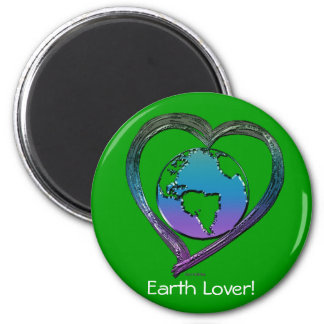 EARTH LOVER Series Magnet