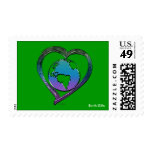 EARTH LOVER Series Postage Stamps