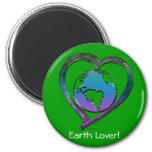 EARTH LOVER Series Refrigerator Magnet