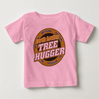 Earth Loving Tree Hugger Baby T-Shirt