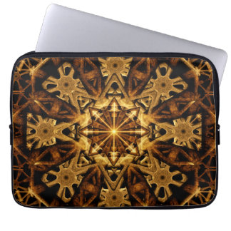 Earth Machine Mandala Laptop Sleeve