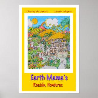 Earth Mama's Yellow Poster