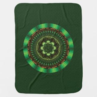 Earth Mandala Baby Blanket