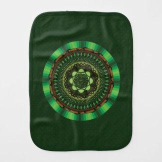 Earth Mandala Burp Cloth