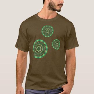 Earth Mandala Men's Dark Shirt
