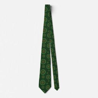 Earth Mandala Men's Neck Tie