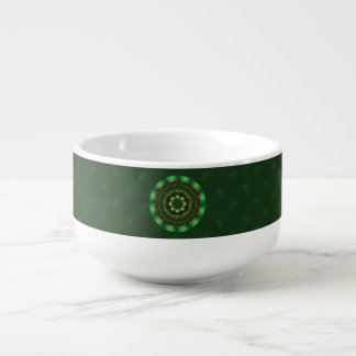 Earth Mandala Soup Mug