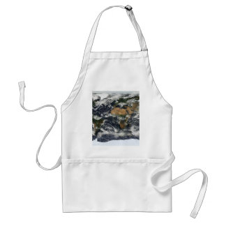 Earth map adult apron