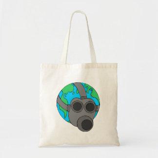 Earth Mask Tote Bags