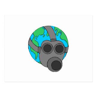Earth Mask Postcard