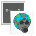 Earth (Masked) Pinback Buttons